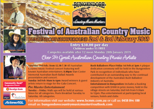 34th Festival of Australian Country Music @ Bungendore Showgrounds | Bungendore | New South Wales | Australia
